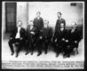 Diputacion de Coahuila, sentados: Jose Ma. Rodriguez, Manuel Aguirre Berlanga, Venustiano Carranza, Manuel Cepeda Medrano y Jose Rodriguez Gonzalez, de pie: Ernesto Meade Fierro y Jorge E. Von Versen.