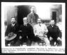 Diputacion de Tamaulipas, sentados: Emiliano P. Nafarrate, Venustiano Carranza, Fortunato de Leija y Ceferino Fajardo, de pie: Pedro A. Chapa.
